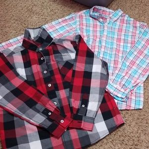 Lot 2 boys button down NEW 10/12!